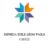 IMPRESA EDILE GEOM PAOLO CAUCCI