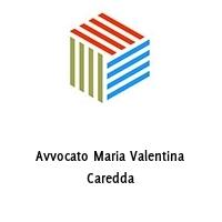 Avvocato Maria Valentina Caredda