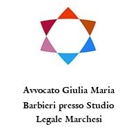 Avvocato Giulia Maria Barbieri presso Studio Legale Marchesi