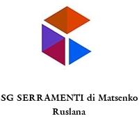 SG SERRAMENTI di Matsenko Ruslana