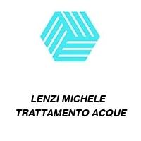 LENZI MICHELE   TRATTAMENTO ACQUE