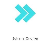 Iuliana Onofrei