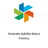 Avvocato stabilito Marco Formica