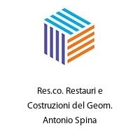 Res.co. Restauri e Costruzioni del Geom. Antonio Spina