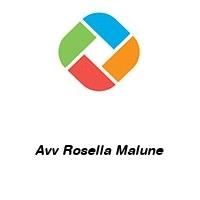 Avv Rosella Malune