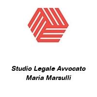 Studio Legale Avvocato Maria Marsulli