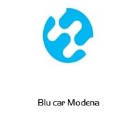Blu car Modena