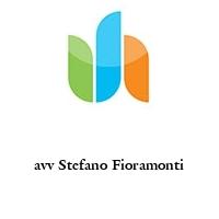 avv Stefano Fioramonti