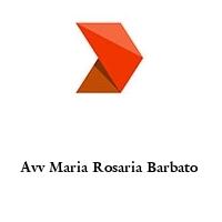 Avv Maria Rosaria Barbato