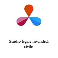 Studio legale invalidità civile