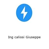 Ing calissi Giuseppe