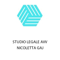STUDIO LEGALE AVV NICOLETTA GAJ