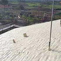 Impermealizzare il tetto con il poliuretano