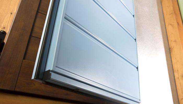 antoni in alluminio per finestra
