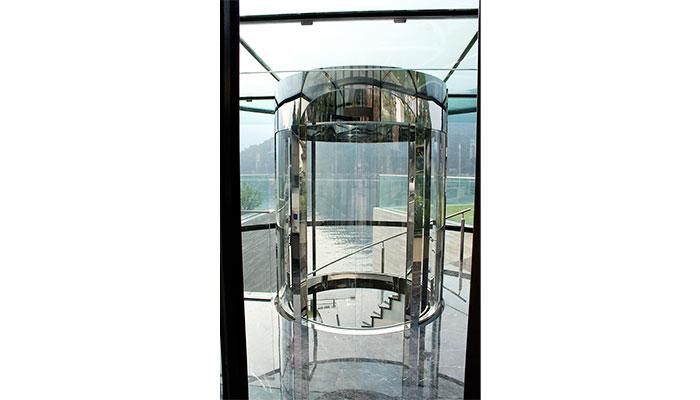 montaggio ascensore panoramico esterno