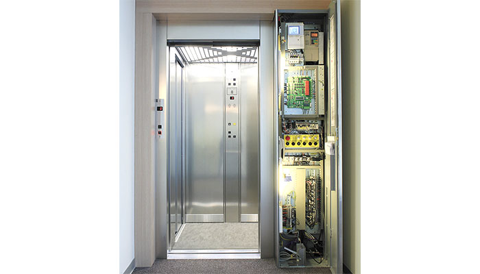 ascensore senza vano macchina caratteristiche