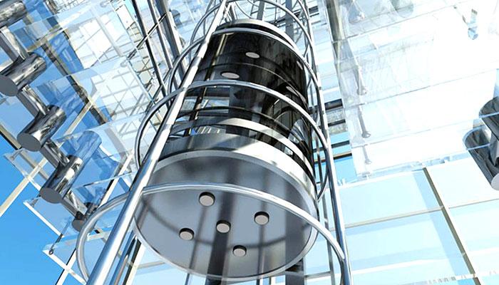 ascensore panoramico circolare