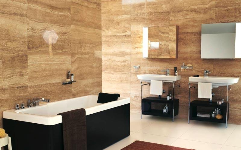 Idee ristrutturazione bagno: Bagno in marmo