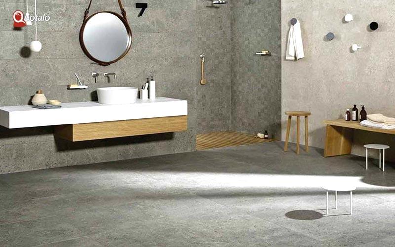 Idee ristrutturazione bagno: Bagno in pietra