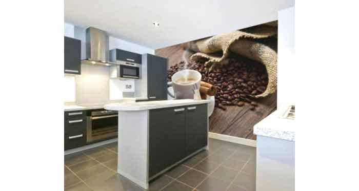 La carta da parati in cucina 6 consigli utili for Tappezzerie murali