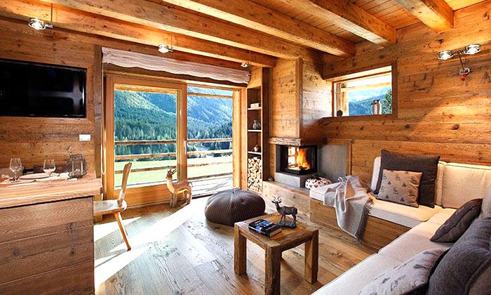 casa in legno prefabbricata per abitazione in montaga
