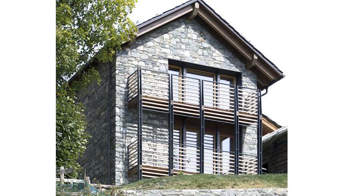casa passiva in muratura costruzione