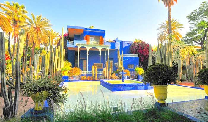 Giardino marocchino foto
