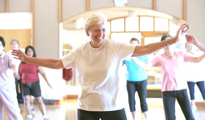 Ginnastica dolce per anziani: strutture specializzate