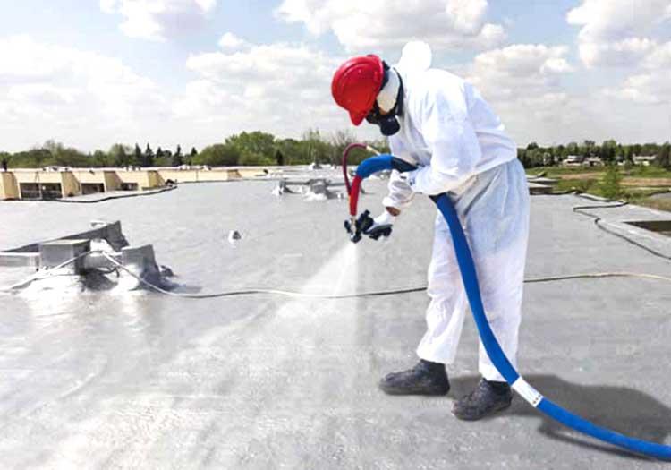 Impermeabilizzazione tetto con poliuretano