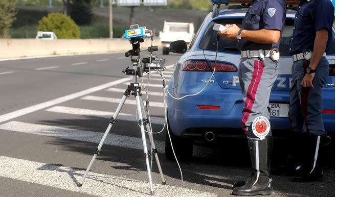 Polizia autovelox