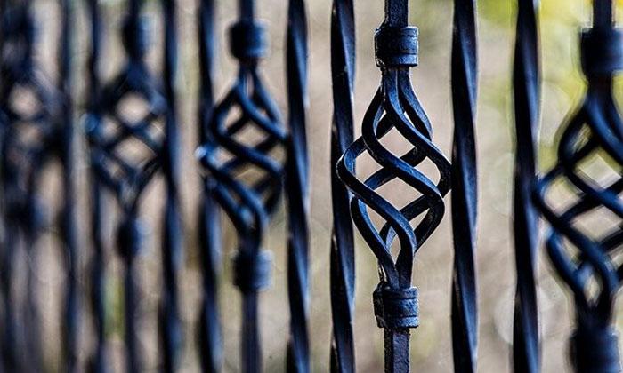 esempio di una ringhiera in ferro