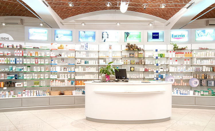 Ristrutturazione integrale farmacia