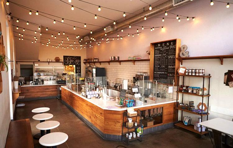 Risultato di una ristrutturazione integrale di un bar