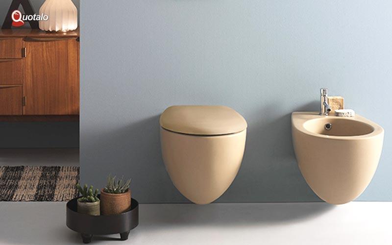 Idee ristrutturazione bagno: Sanitari colorati