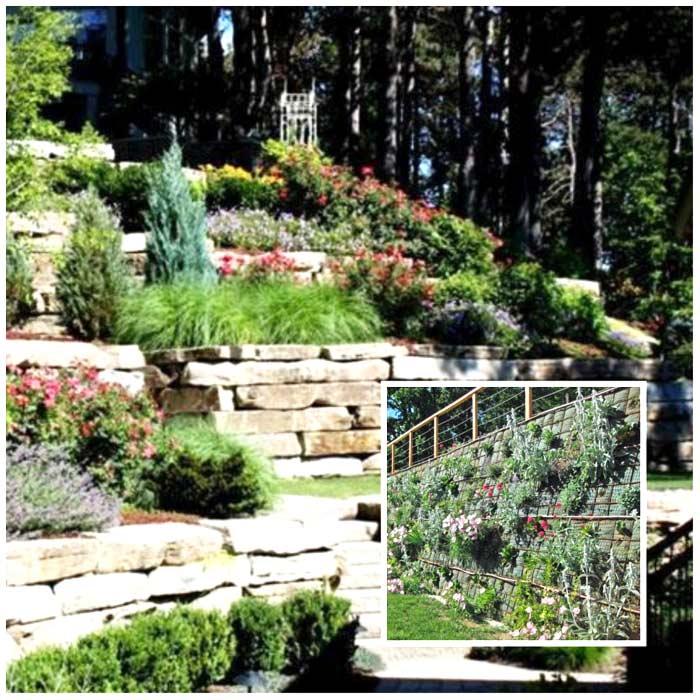 Idee giardino in pendenza per soluzioni moderne - Idee giardino in pendenza ...