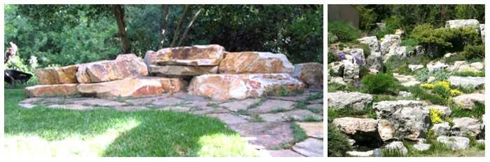 Giardino in pendenza roccioso foto 1