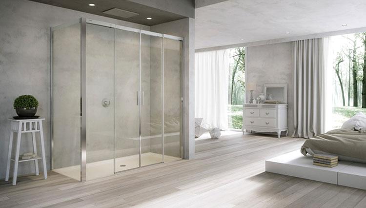 sostituzione vasca con doccia a filo pavimento
