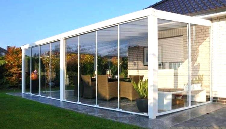 Veranda esterna per casa