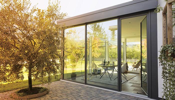veranda finstral in alluminio