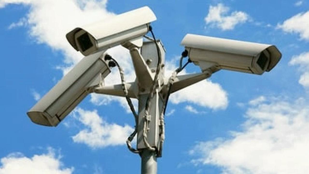 foto sistema di videosorveglianza